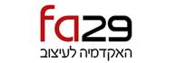 לוגו - FA29 האקדמיה לעיצוב
