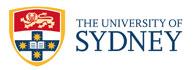 לוגו - University of Sydney- סידני, אוסטרליה