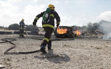 לימודים במרכז לבטיחות אש